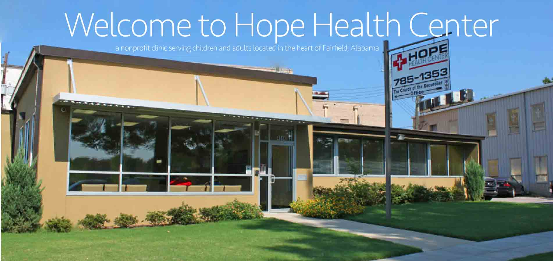Welcome to the Hope Health Center